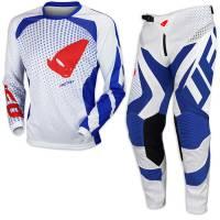 UFO Proton Red White Blue Motocross Kit Combo