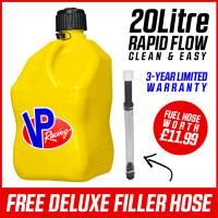 VP Racing 20L Quick Fuel Jug Square - Yellow