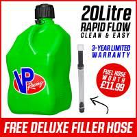 VP Racing 20L Quick Fuel Jug Square - Green