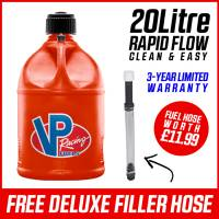 VP Racing 20L Quick Fuel Jug Round - Red