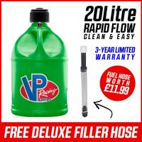 VP Racing 20L Quick Fuel Jug Round - Green
