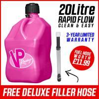 VP Racing 20L Quick Fuel Jug Square - Special Editon Pink