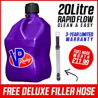 VP Racing 20L Quick Fuel Jug Square - Purple