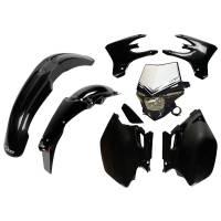 UFO Plastic Kit Yamaha WRF 250 450 Black